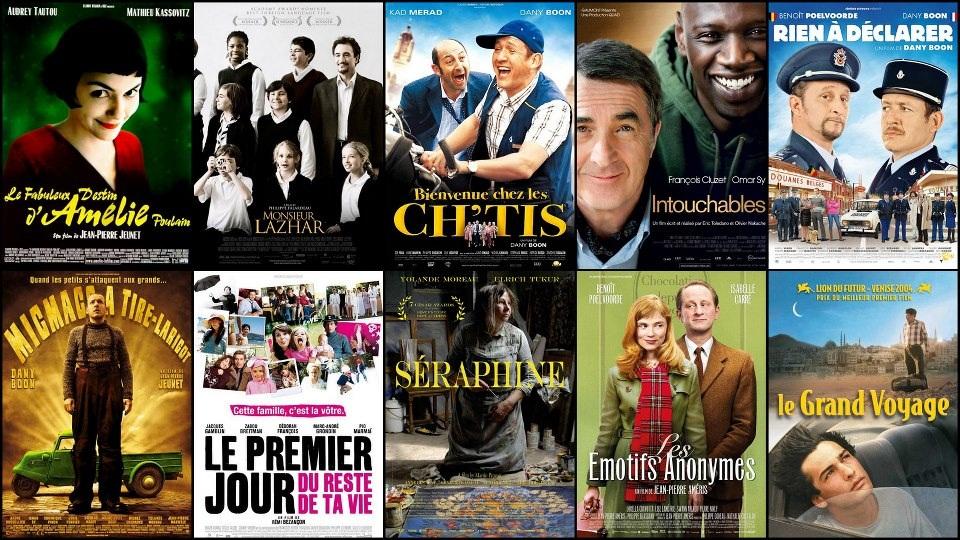W kinie - plakaty francuskich filmów 2 - Francuski przy kawie