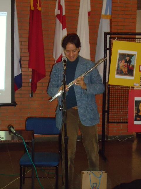 Jesus com a flauta